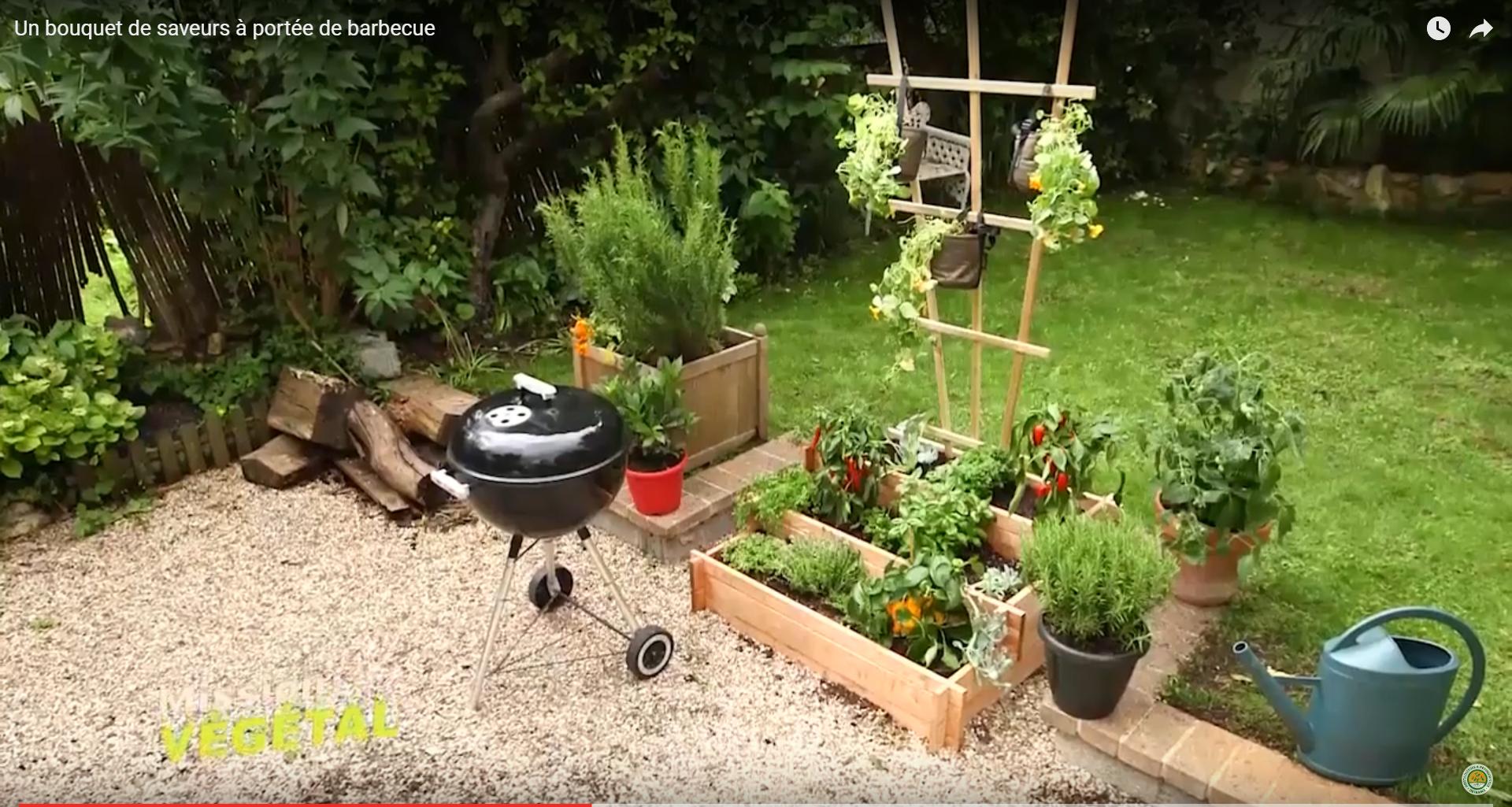 Un jardin de saveurs pr s du barbecue - Jardin des plantes aix les bains ...